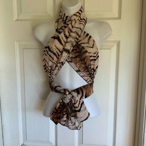 Accessories - Tiger print scarf...can be worn soooo many ways